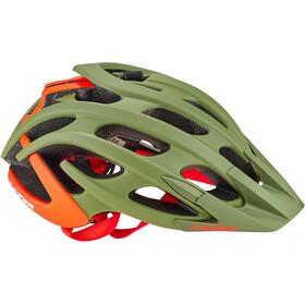 Lazer Magma+ Helmet matte khaki/orange